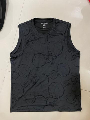 Singlet gym pria Uniqlo - FBT 100% new original