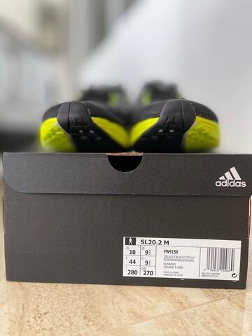 Adidas SL20 Men Running Shoes Sepatu Lari Pria FW9156 100% Original