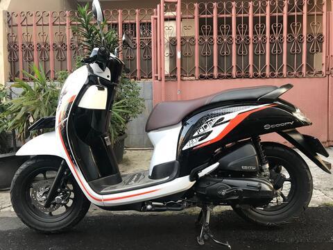 "Honda Scoopy Donat R 12 Th""2019 B.Dki KM Rendah Antik"