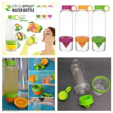 CITRUS ZINGER WATER BOTTLE INFUSER
