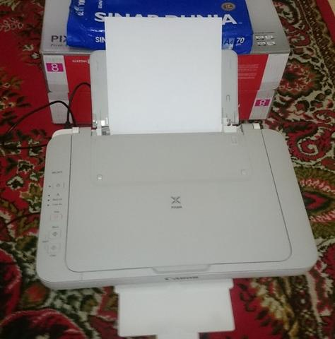 Printer Canon Pixma MG 2470 White All in One Bandung