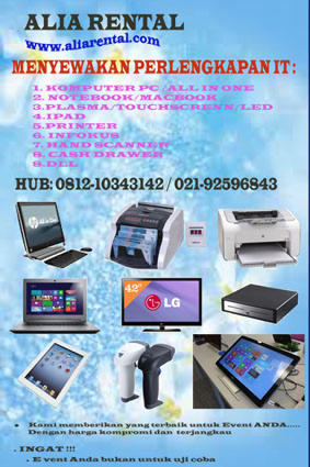 RENTAL KOMPUTER-SEWA NOTEBOOK MURAH