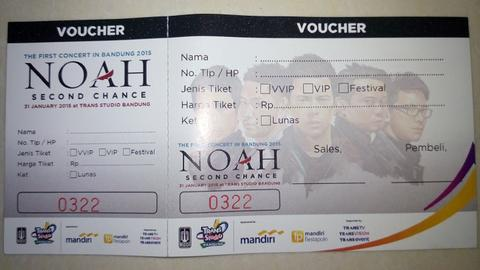 Noah second chance TSB 31 jan 2015
