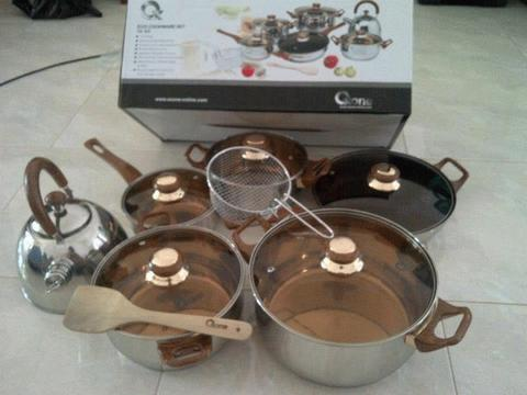 Panci set Oxone OX-933 eco cookware panci stainless