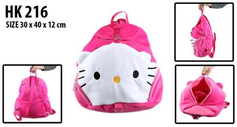 Tas Backpack, Ransel Hello Kitty dan Rilakkuma