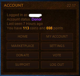 ♠♣♥♦ Account + Coin Wow Molten ♠♣♥♦