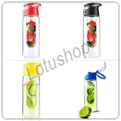 New Tritan Infused Water Bootle With Fruit Infuser BPA Free (Generation 2)