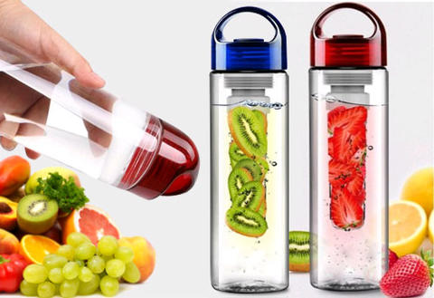 """Tritan"" Bottle Fruit Infuser BPA Free"