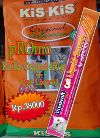 PROMO CAT FOOD KIS KIS ORIGINAL 450 GR