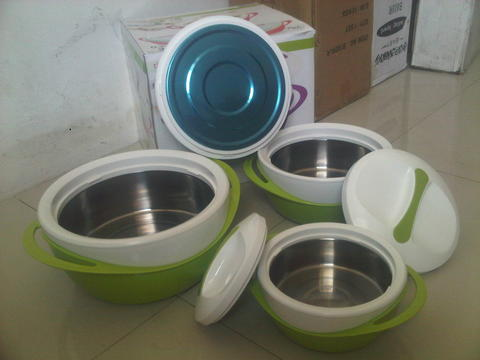 THERMO CONTAINER LUNCH SET Tahan Panas Hingga