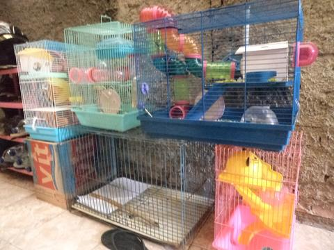 Jual Kandang Hamster Second Borongan