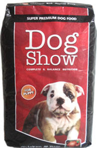 DOG SHOW ,DOG FOOD SUPER PREMIUM