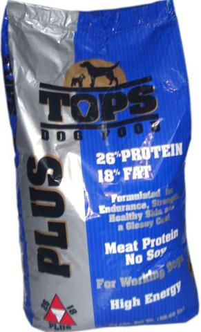 DOG FOOD ,TOPS PLUS. KWALITAS TOP
