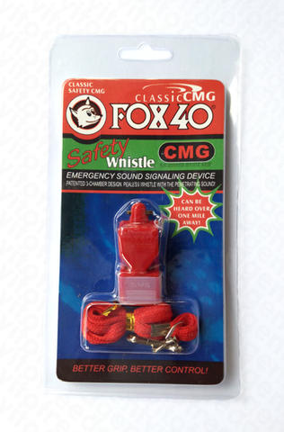 FOX40 CMG CLASSIC SAFETY-WHISTLE / PELUIT OUTDOOR / ALAT LATIH HEWAN / DOG,PARROT,BoP