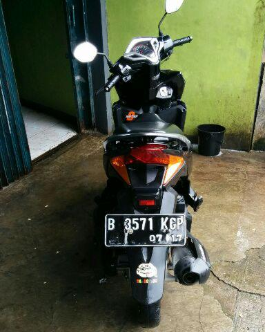 Honda Vario 125 th'12 Black Metalic Muraaaahh
