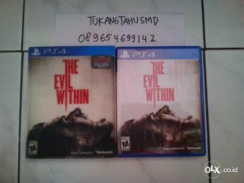 BD PS4 The Evil Within Special Edition BISA BARTER!! BANDUNG!!