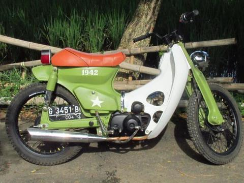 super cub modif army (street cub)