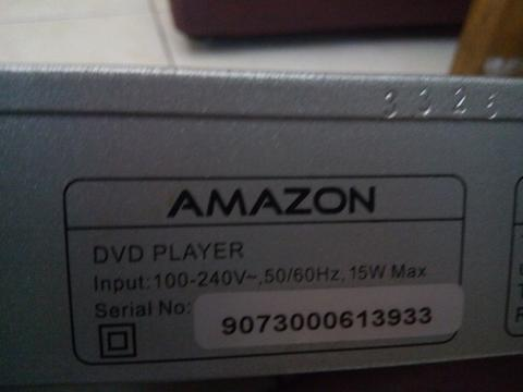 DVD Player Amazon A-306