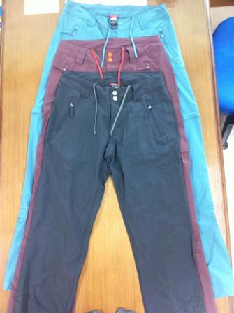 WTS celana TNF / The North Face Trekker Convertible Pants