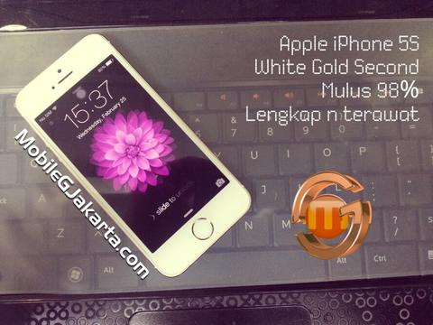 Terjual Apple iPhone 5s Gold 16GB Second  633d1bbd84