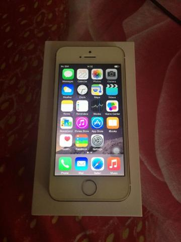DiJual Apple iPhone 5S 16Gb Gold Original FullSet Murah Medan