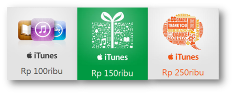 [IGC] ITUNES GIF CARD Indonesia I 100% LEGAL & TRUSTED