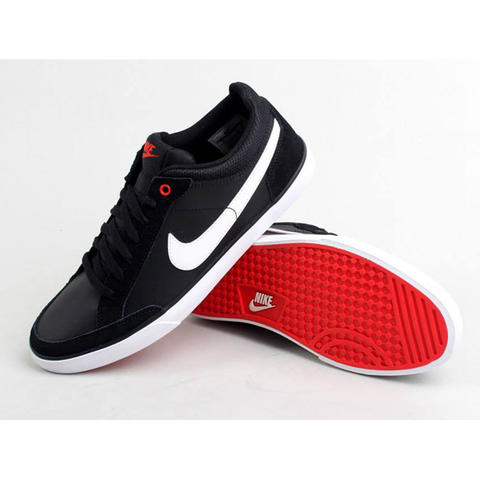 9e5bb991542 Terjual Sepatu Nike Capri III Low Leather Black White