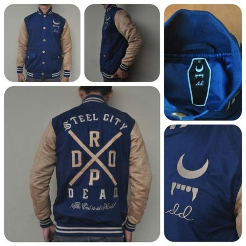 Terjual JAKET HOODIE VARSITY MACBETH AND DROPDEAD THE END IS AT HAND ... 1c62bd818b