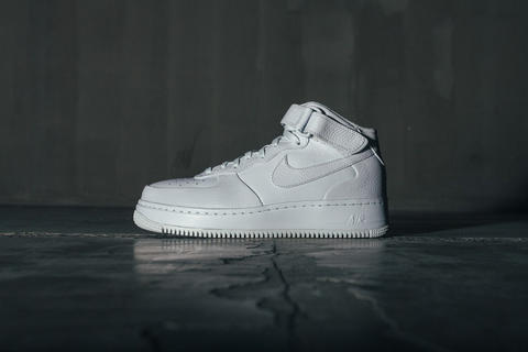Nike Air Force 1 Mid All White CMFT SP Collection