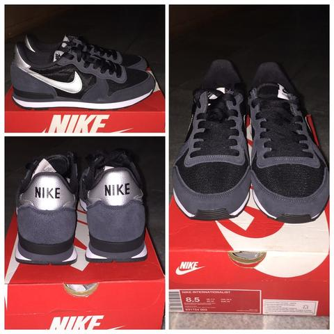 Nike Internationalist Black Silver ORIGINAL