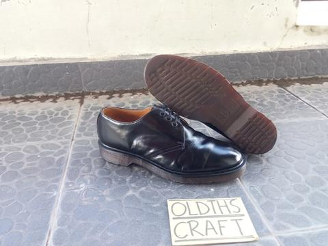 - Oldths Craft - Dr Martens 1461 Black PW / Non Stitch 6UK