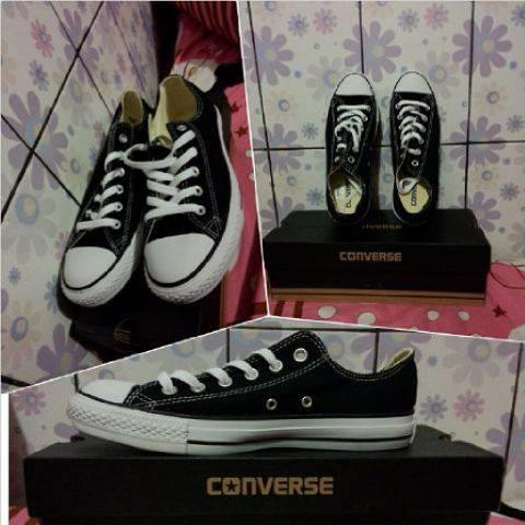 Converse Chuck Taylor All Star Lo-Top Black Malang