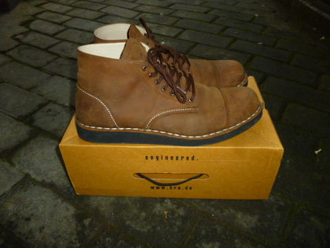 BRODO BOOTS Alpha Vintage Brown