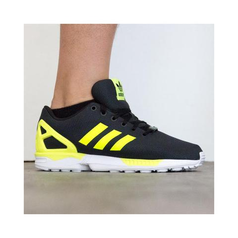 EDISI PENGHABISAN! [ORIGINAL] Adidas ZX Flux Red Poppy and Black Neon.