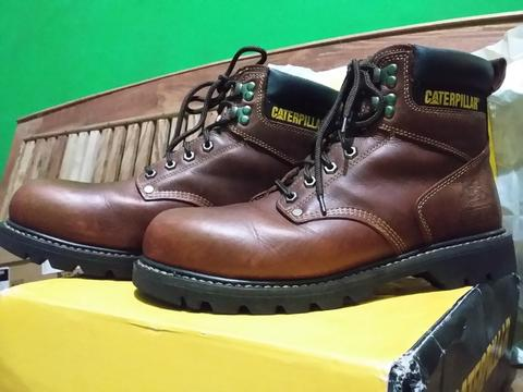 Seaptu caterpillar second shift steel toe terawat indramayu