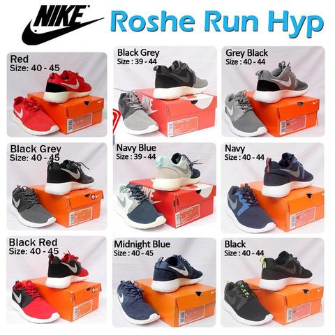 [HOT ITEM] Sepatu Roshe Run Hyperfuse LIMITED !!!