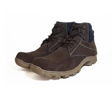 MILDEWshoes Steel Toe Boots [Safety Boots] // 100% ASLI Kulit Suede