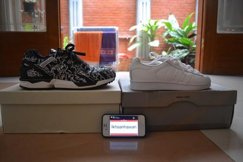 Adidas ZX5000 x Maharishi x Undefeated + Superstar Full White