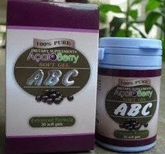 agen ABC Acai Berry Slimming Softgels