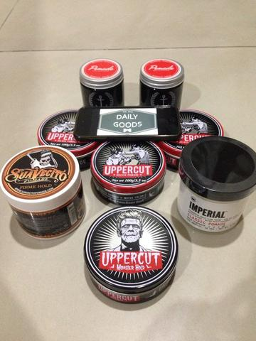 Ready stock! Import pomade (Uppercut,Suavecito,Imperial,Admiral)