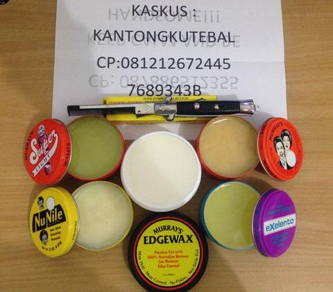 POMADE MURRAYS! Superior , Nu nile , Exelento , Super Light , Edgewax!! free ONGKIR!!
