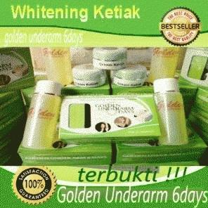 Golden Underarm 6days pemutih ketiak BEST SELLER !!