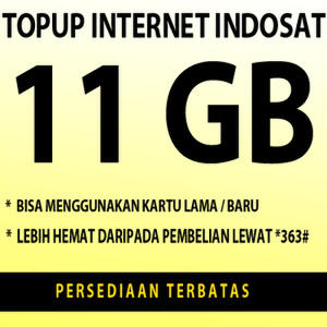 indosat super internet 11gb