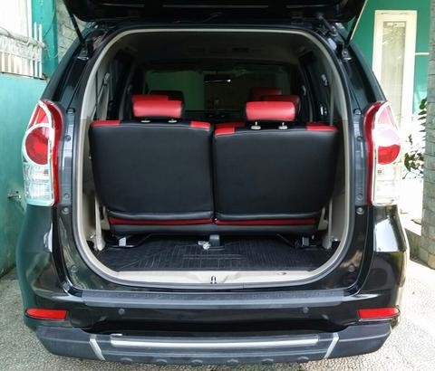 [2nd like new] All New Avanza 1.3 G Black Matic 2013 double airbag plat D BDG