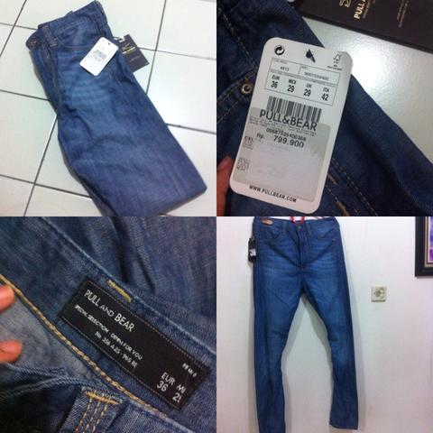 PULL AND BEAR JEANS BNWT