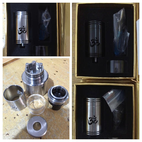 authentic TURBO rda by ohm nation (TOBECO)