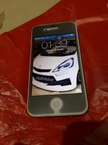 iphone 4 32gb white supermint condition