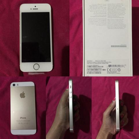 Wts iphone 5s gold BNIB (16gb)