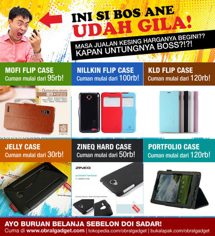 Anti Gores Glare Soft Silicon Jelly Hard Leather Flip Case Cover Xiaomi Redmi 1s Note