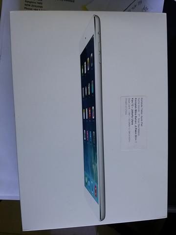 Ipad Air 128 Gb White Wifi+Cell Masih Garansi SES BNOB